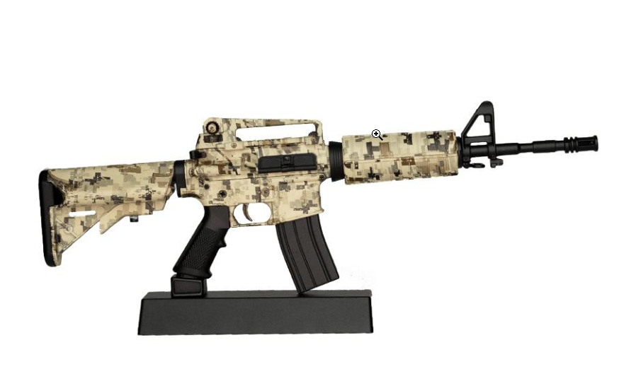 Goatguns Mini AR15 Camoflauge - Die Cast Model Toy