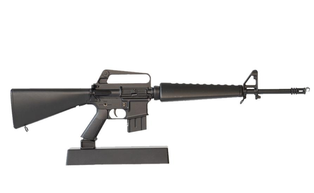 Goatguns Mini M16A1 - Black Die Cast Model Toy