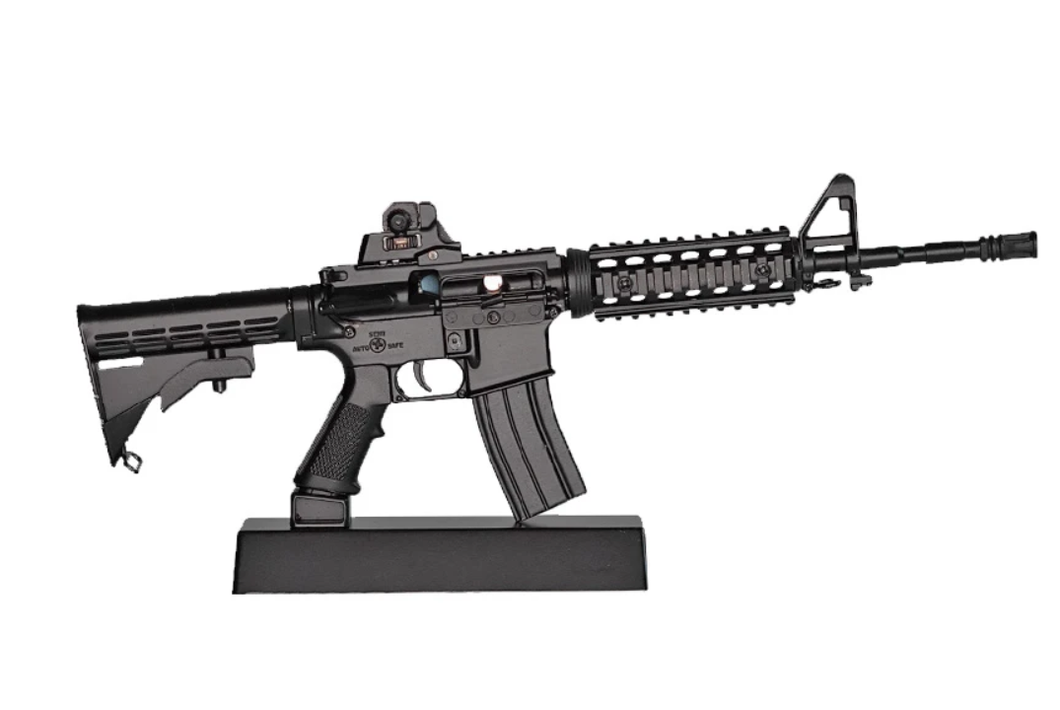 Goatguns Mini AR15 - Black Die Cast Model Toy