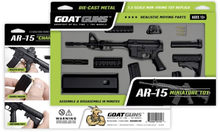 Load image into Gallery viewer, Goatguns Mini AR15 - Black Die Cast Model Toy