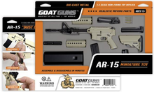 Load image into Gallery viewer, Goatguns Mini AR15 FDE Stormstropper - Die Cast Model Toy