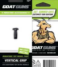Load image into Gallery viewer, Goatguns Mini Ranger Grip for AR15 Models - Die Cast Model Toy