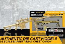 Load image into Gallery viewer, Goatguns Mini .50 Cal GOLD - Die Cast Model Toy