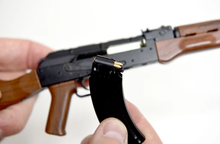 Load image into Gallery viewer, Goatguns Mini AK47 BLACK - Die Cast Model Toy
