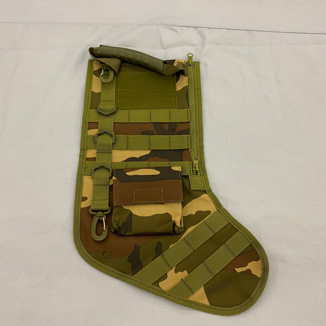 Tactical Christmas Stocking Camouflage