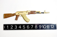 Load image into Gallery viewer, Goatguns Mini AK47 GOLD - Die Cast Model Toy