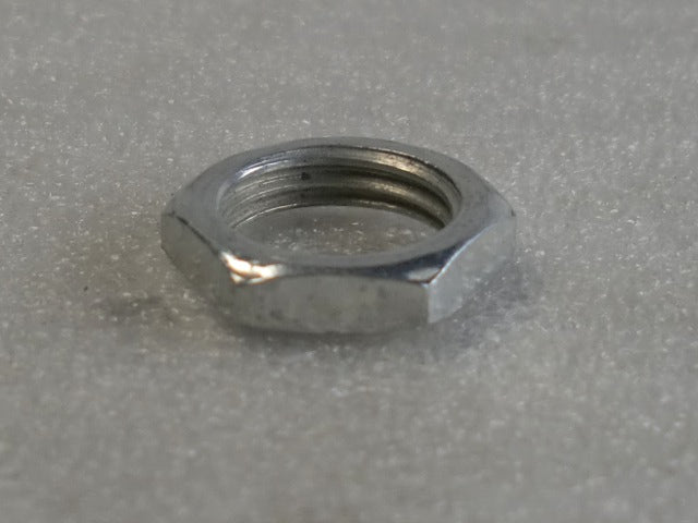 Zinc Locknut with a 1/4 IPS Threading