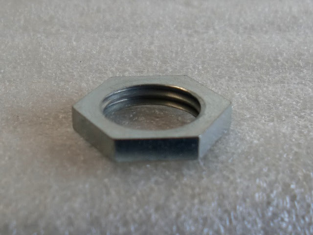 Zinc Turned Hexagon Locknuts with a 1/4 IPS Threading