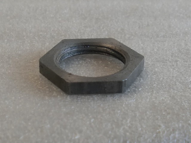Unfinished Turned Hexagon Locknuts with 3/8 IPS Threading