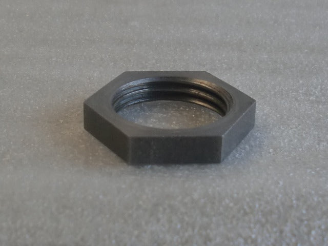 Unfinished Turned Hexagon Locknuts with 1/2 IPS Threading