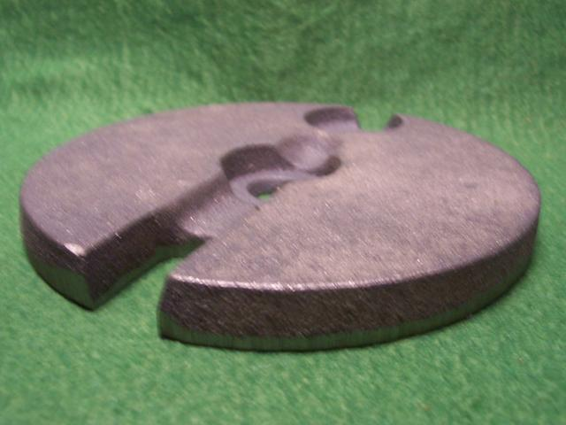 "6"" Diameter Cast Iron Lamp ""Loaders"" Weights"