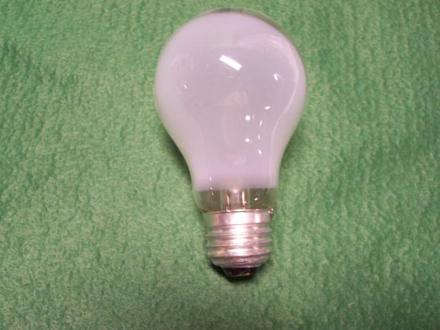 25W Medium Base Frosted Household Bulb 130 VOLT