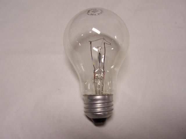 75W A19 Medium Base Clear Household Bulb 120 VOLT
