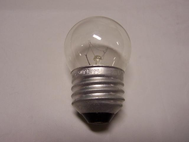 7-1/2W Medium Base Clear Night Light Bulb 120 VOLT