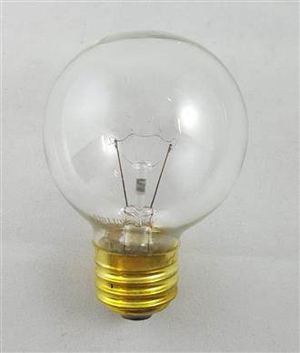 60W Medium Base Clear Globe bulb 120 VOLT
