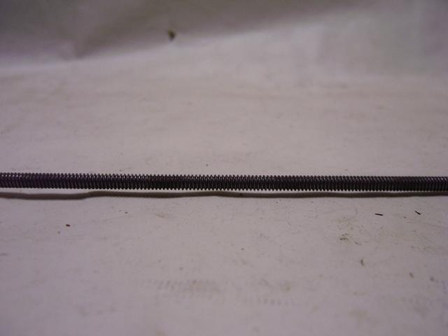 2 Foot Length All Thread Steel Pipe - 6/32