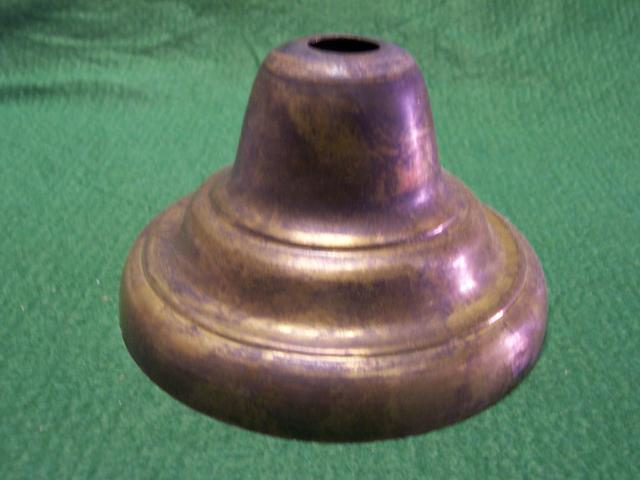 "Bell Canopy - Polished & Lacquered - Brass - 5-1/4"" Diameter, 3"""