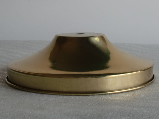 "6"" Polished & Lacquered Simple Brass Holder"