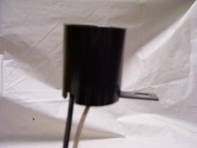 Bakelite Socket w/side bracket