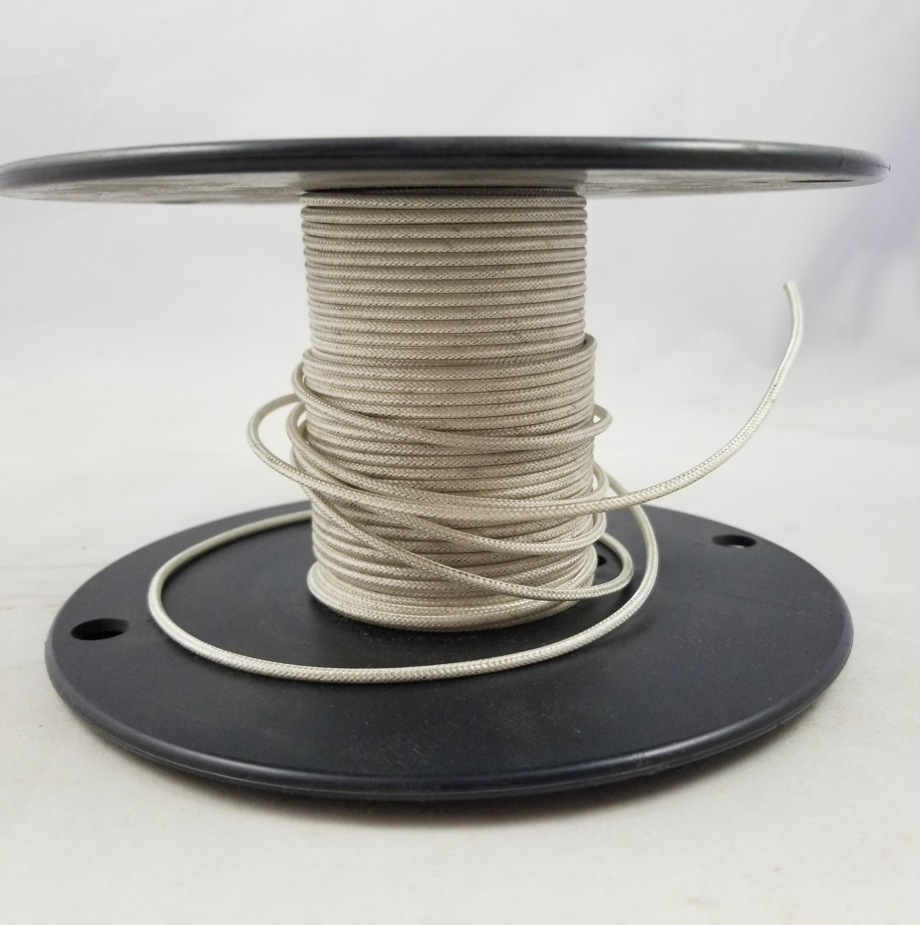 white single rayon covered approved fixture wire 250ft