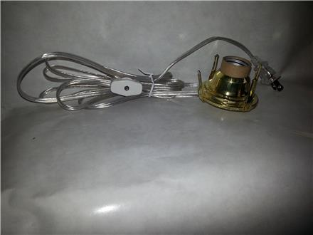 All Brass Wired Burners-#1-Silver Cord