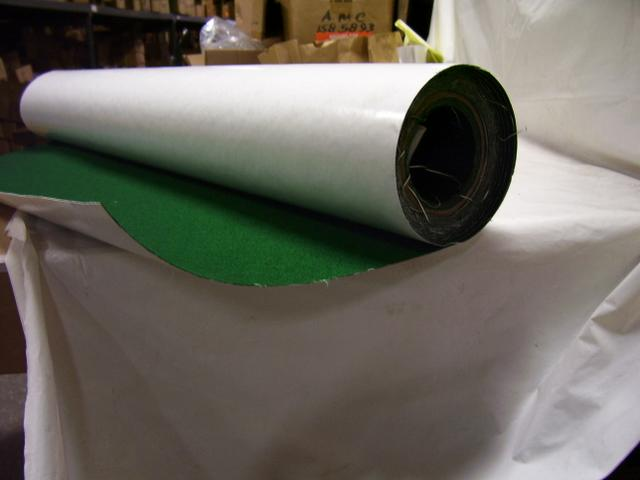 Green adhesive-back felt