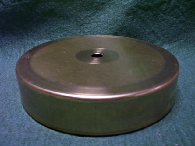 "4-1/2"" Plain Top Step - 1""high"