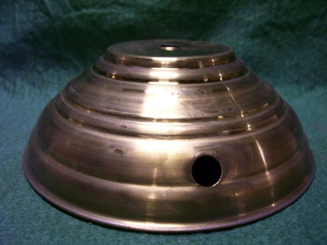 "6""bottom -1-7/8""ht. 2-1/2""top polished&lacq."