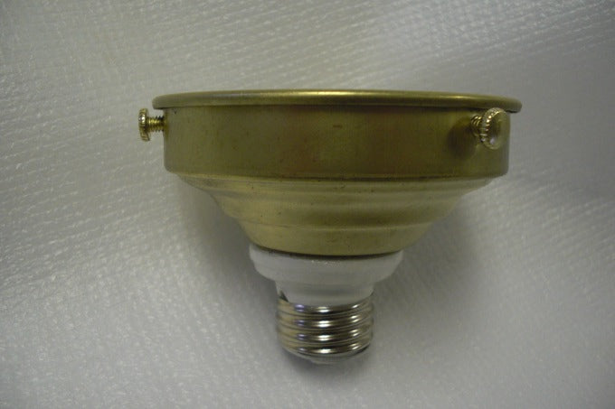 "unfinished brass 3-1/4"" fitter"