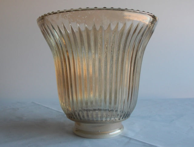 Amber Glass Fixture Shade ONLY 3 LEFT