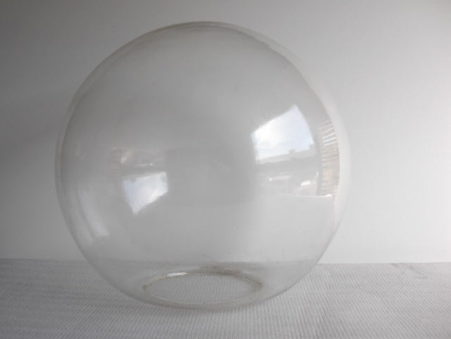 "8"" Clear Neckless Globe - Domestic"