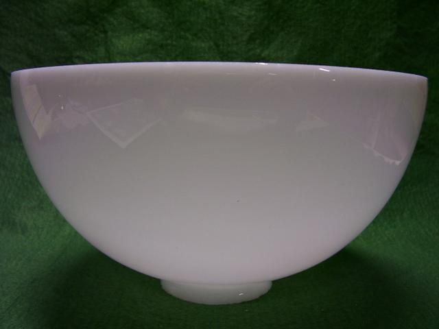 "10"" Hand Blown I.E.S. Reflector Shade with a 2-7/8"" fitter"