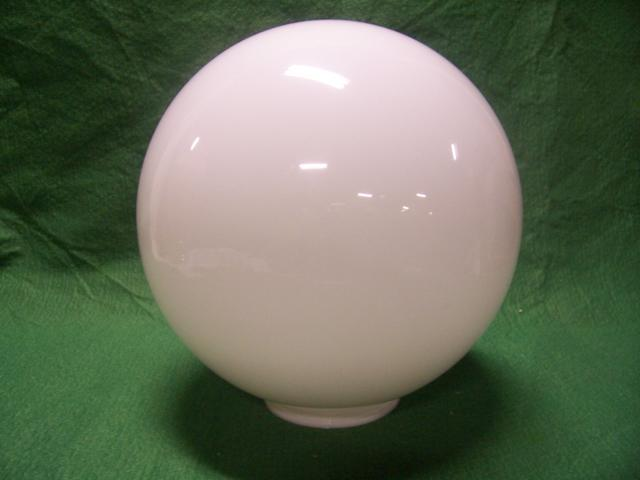 "8"" Acrylic Globe with a 4"" fitter"