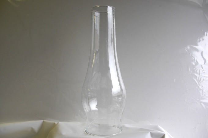 "3""fitter glass chimney 12""high clear"