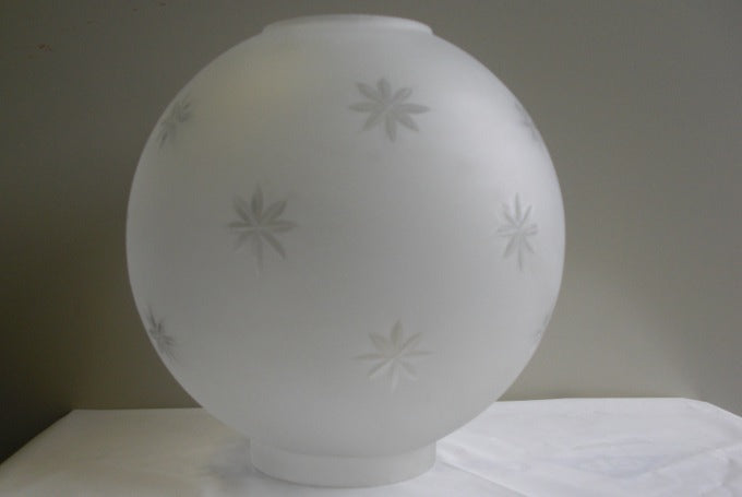 "8"" Frosted Star Ball"