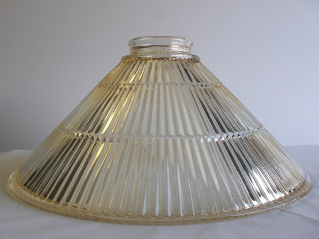 "3-1/4""fitter-prismatic cone shade15""champagne"
