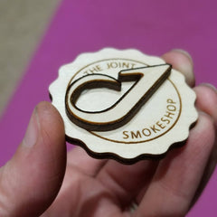 The Joint Smokeshop Button