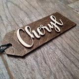 Stocking/Gift Wooden Tags
