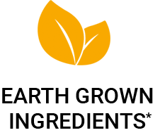 Earth Grown Ingredients*