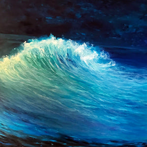 Wave 5 | Oil on canvas