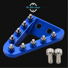Load image into Gallery viewer, HUSKY ANODISED BLUE REAR BRAKE PEDAL TIP