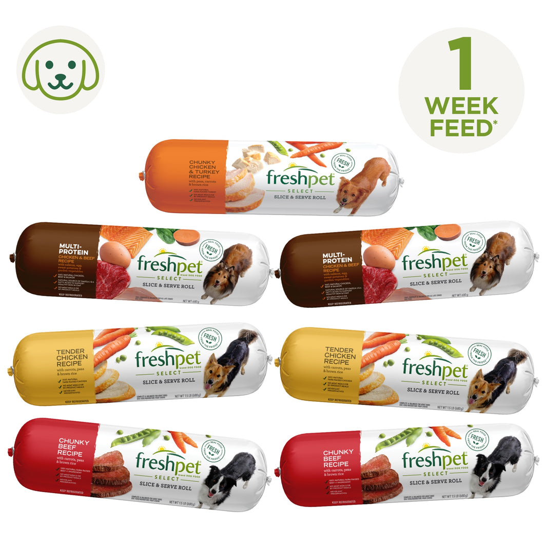 7 Day Roll Dog Hamper