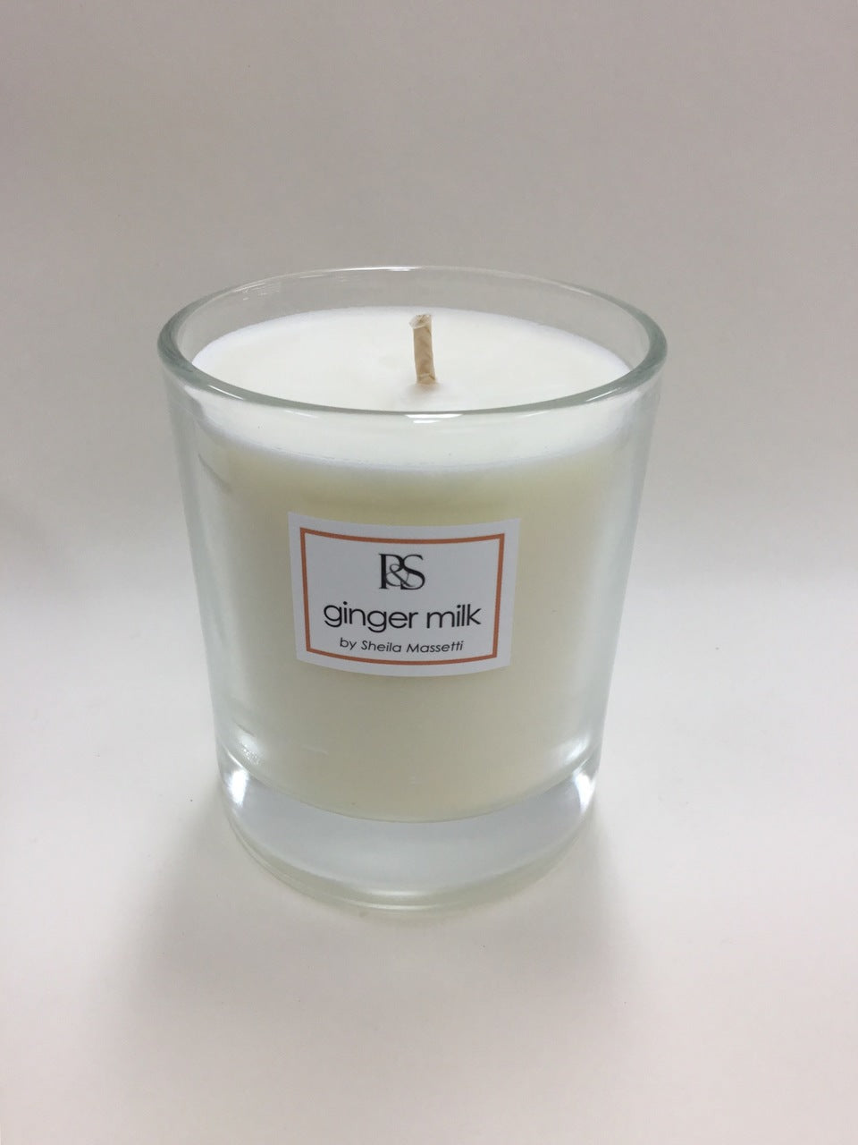Ginger Milk Pure Soy Wax Candle - 200 gm