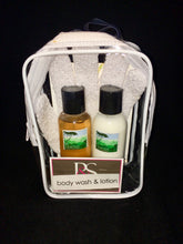 Load image into Gallery viewer, Travel Pack ... Lemon Myrtle ... Lotion & Wash Pack