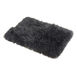 Dropshipping Faux Fur Pet Luxury Dog Blanket Car Soft Fleece Fluffy Dog Blanket Cover Sofa wholesale For Dog Beds