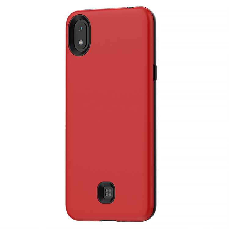 TPU 2 in 1 Red Case