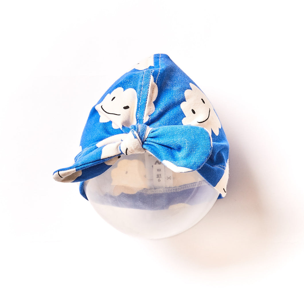Baby Turban Blue Clouds