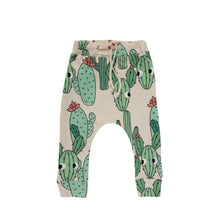 Load image into Gallery viewer, GREEN CACTUS PANTS