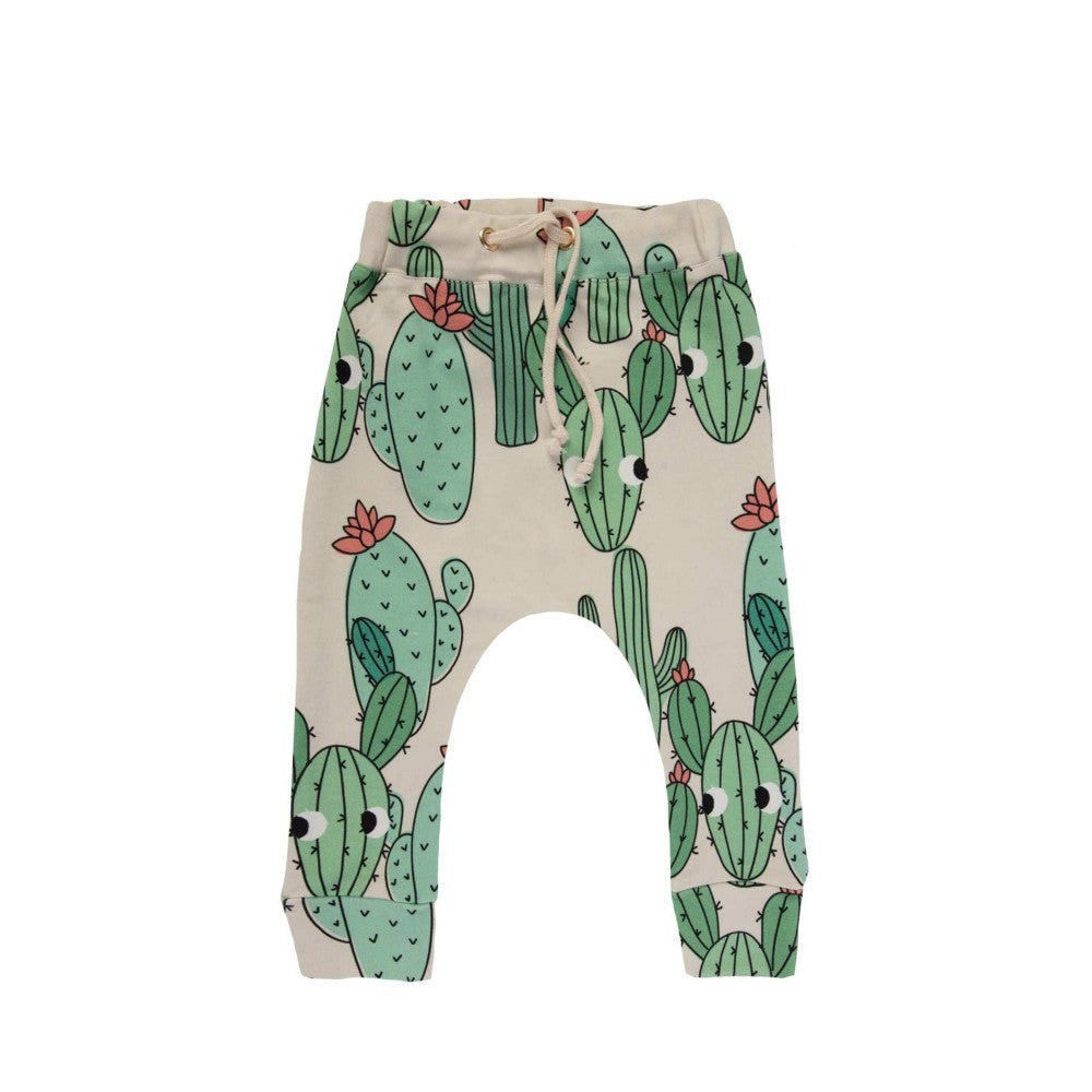 GREEN CACTUS PANTS