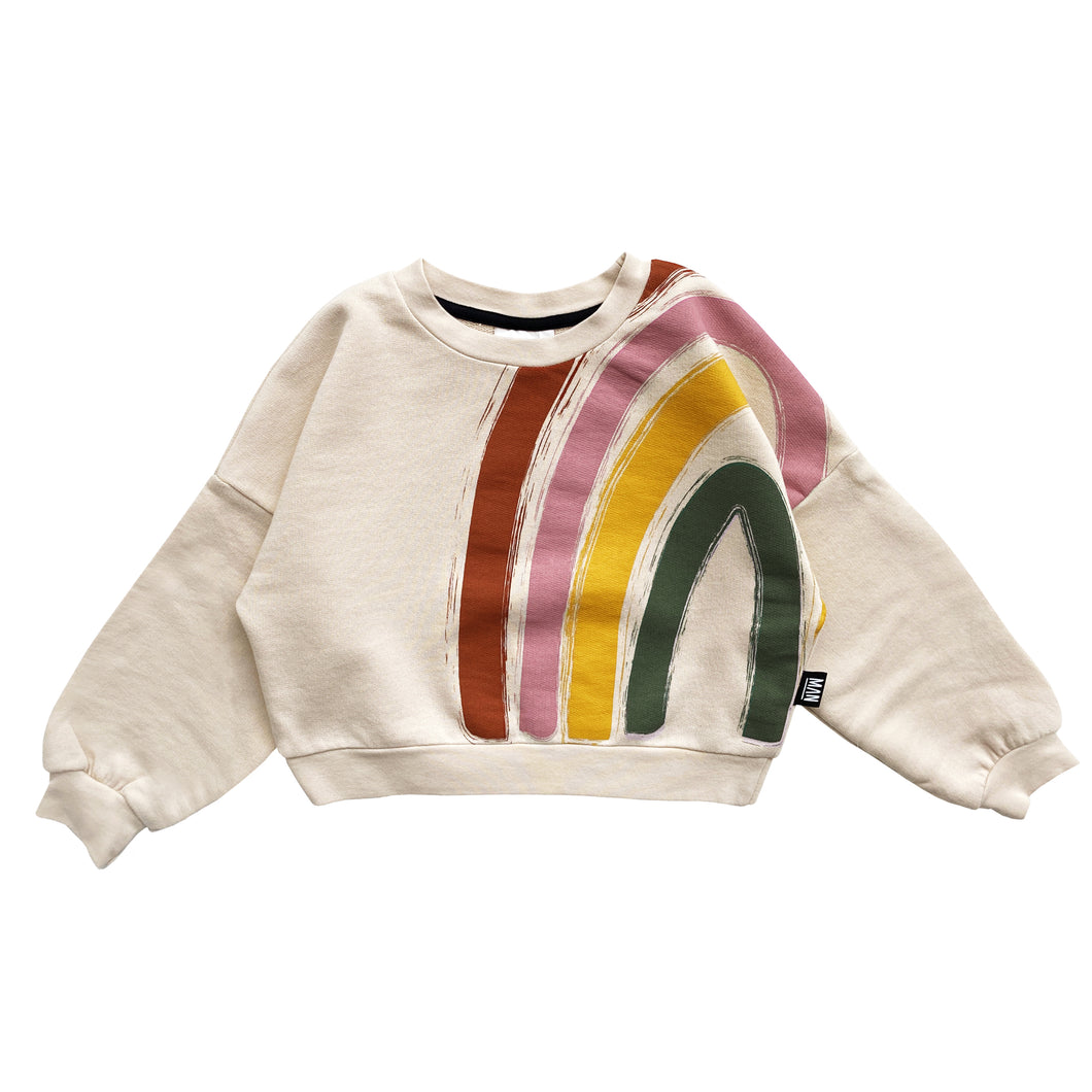 RAINBOW Cropped Sweater